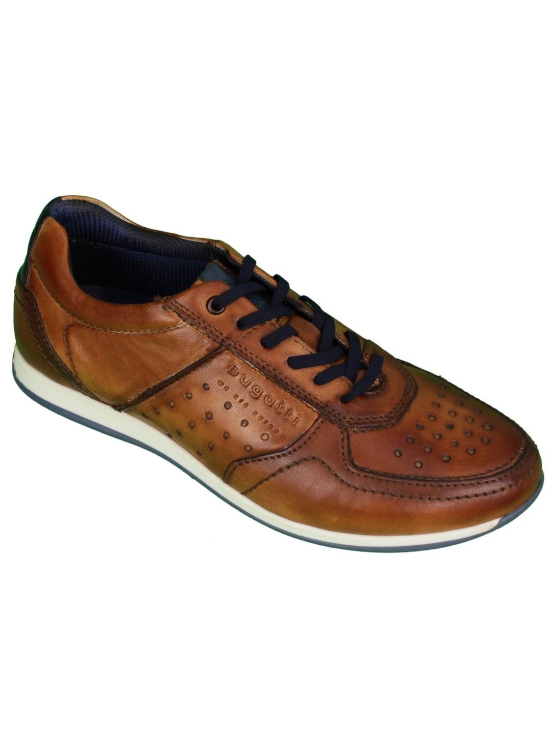 Bugatti Herren Schuhe Sneaker braun 311 45007 3500 6300 cognac