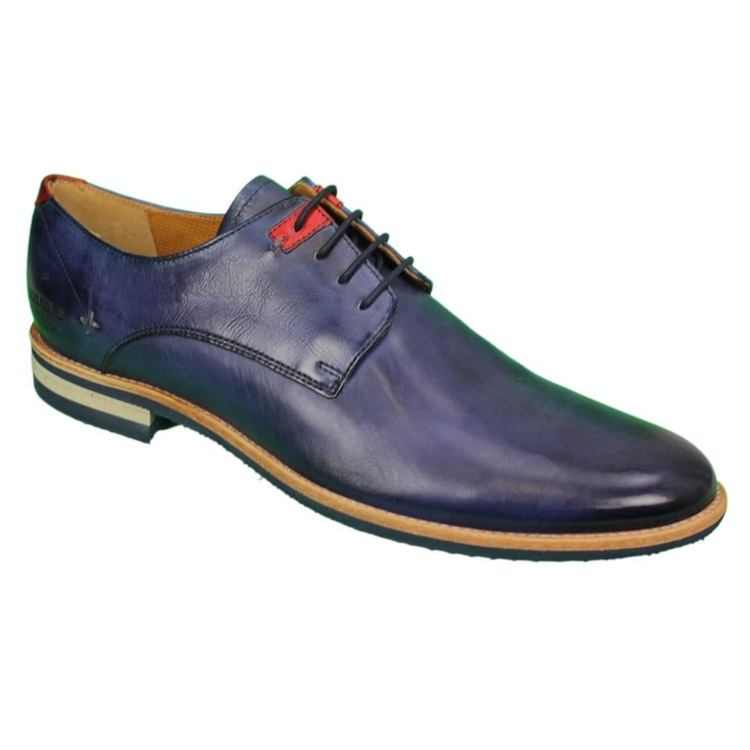 Melvin & Hamilton Herren Halbschuhe Schuhe blau Clint 1 110902 navy