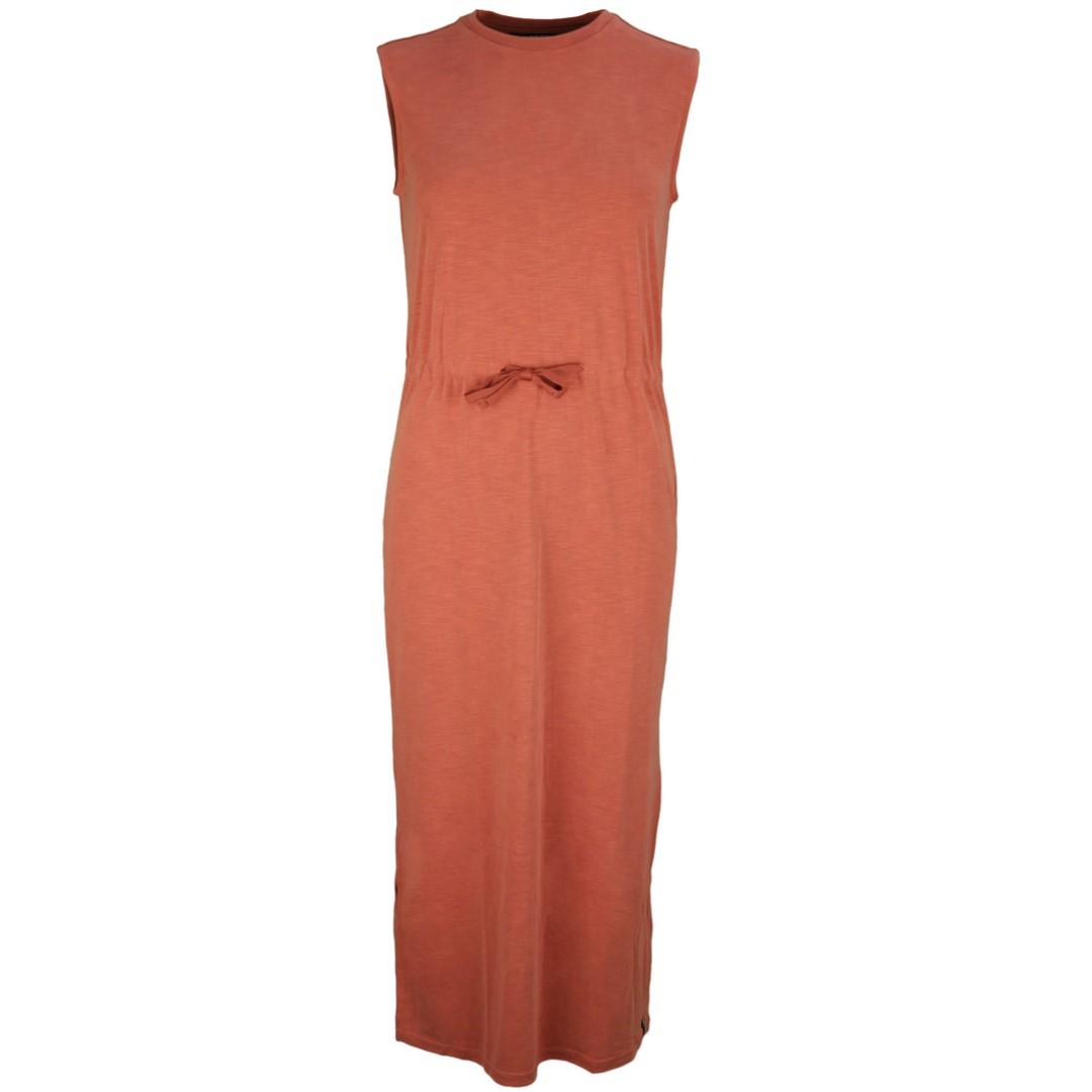 Superdry Damen Kleid Desert Drawstring Midi Dress Rost rot W8010124A 9sl rost