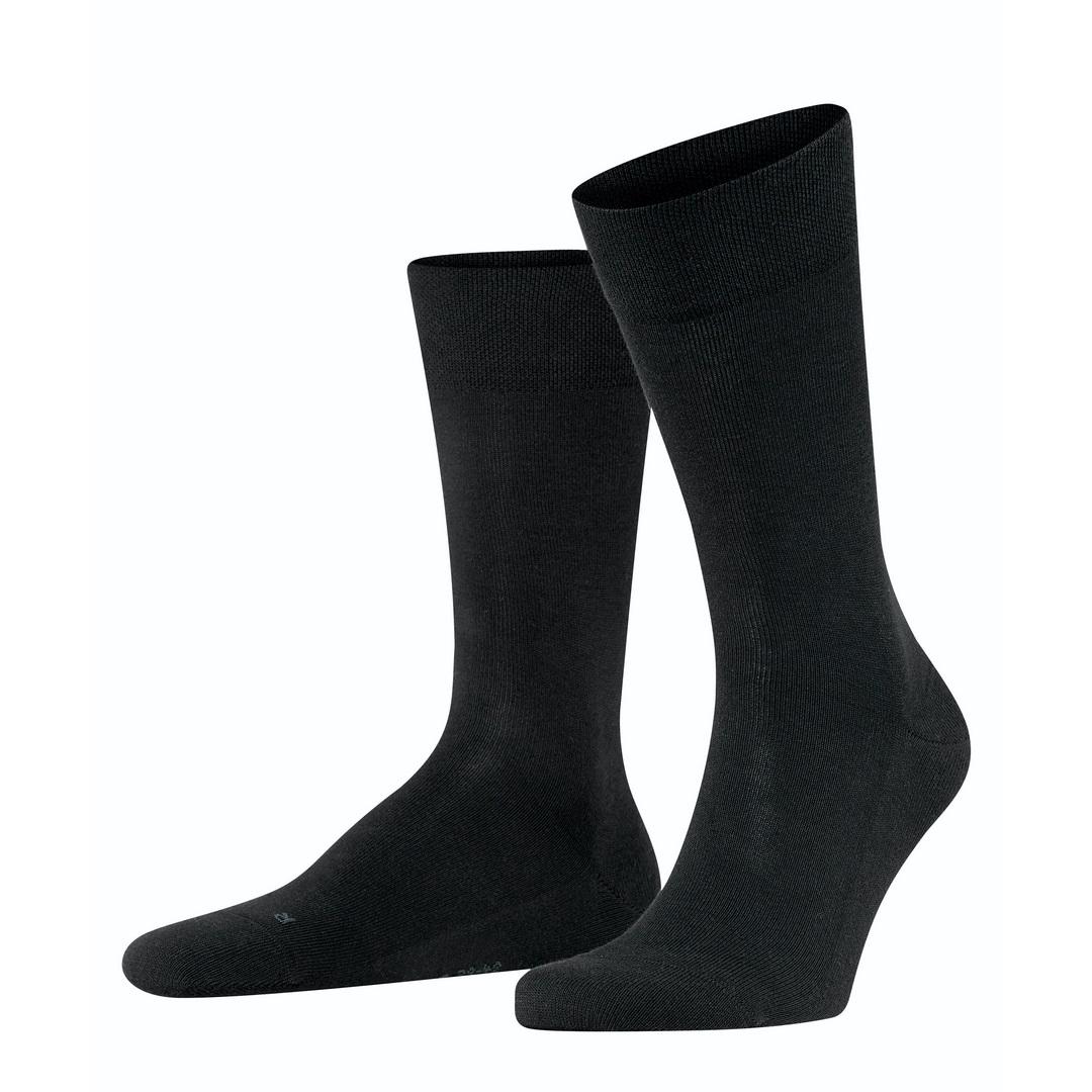 Falke Sensitive Socke London schwarz 14616 3000 Basic Baumwolle