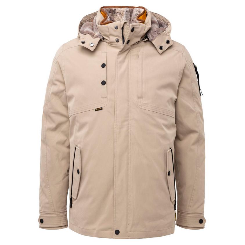 PME Legend Herren Winter Jacke Semi Long Jacket Snowpack Icon Hi beige PJA216104 8013