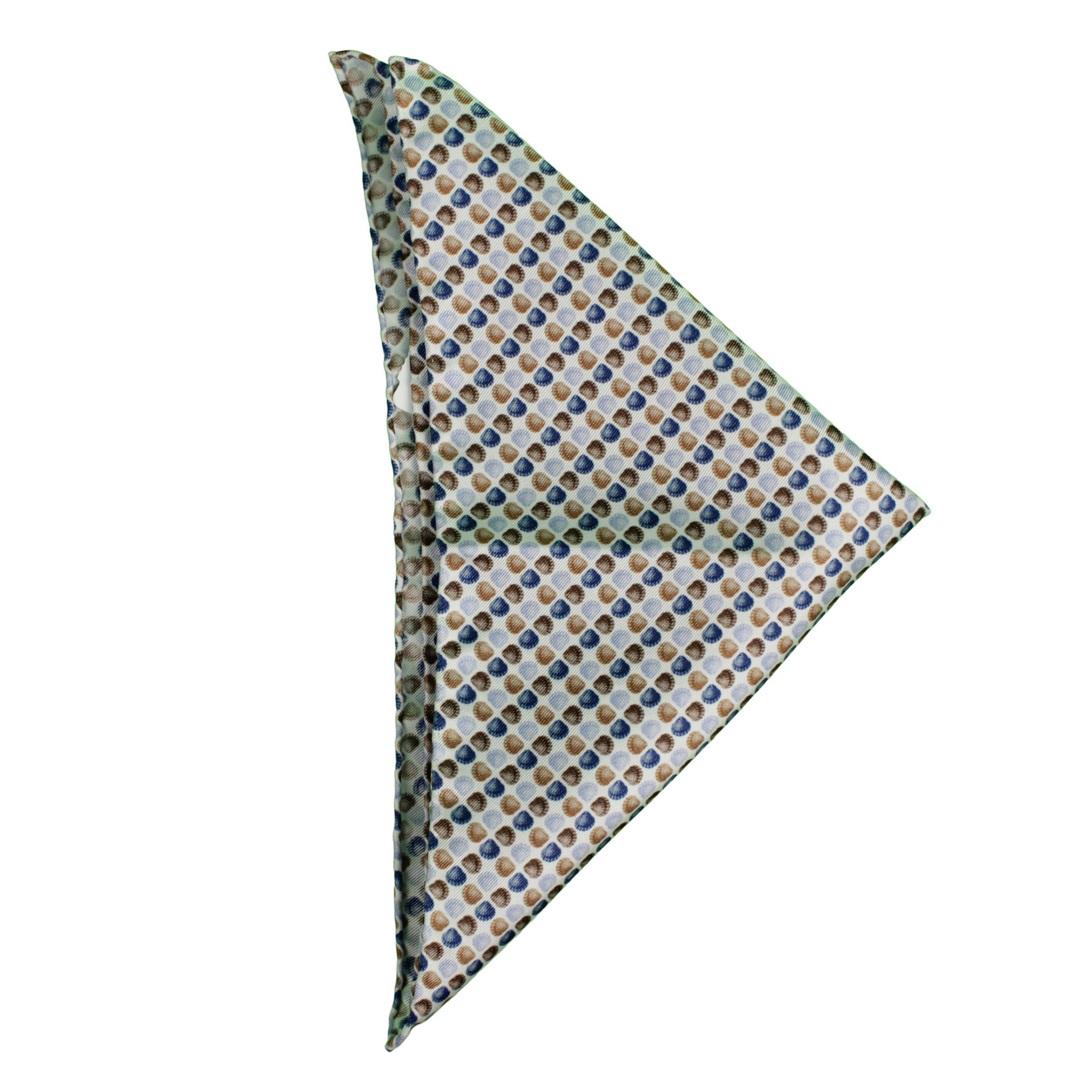 Olymp Einstecktuch mehrfarbig gemustert 1773 79 28 braun
