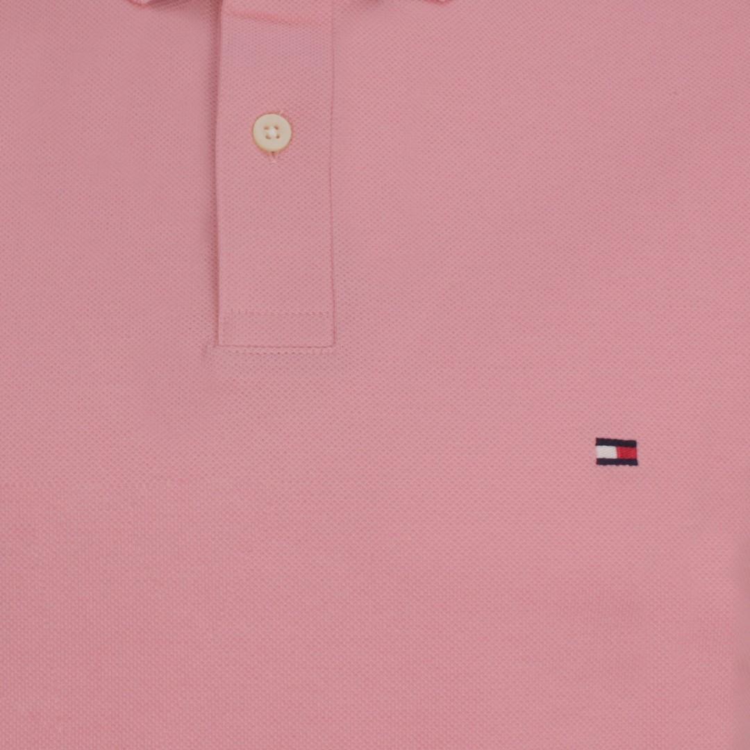 Tommy Hilfiger Herren 1985 Regular Polo Shirt rosa MW0MW17770 TMJ Glacier Pink