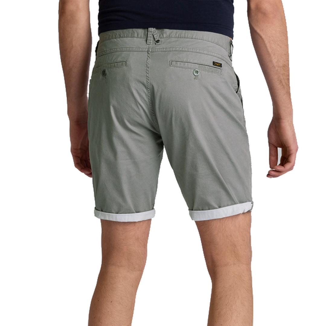 PME Legend Herren Chino Short Cotton Linen Peached grau PSH203671 9090