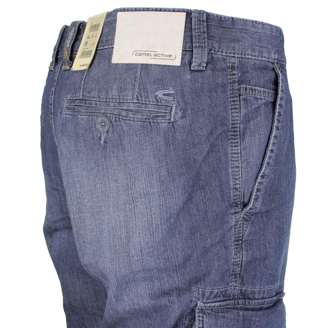 Camel active Herren Jeans Capri Short Houston 7R01 496230 46