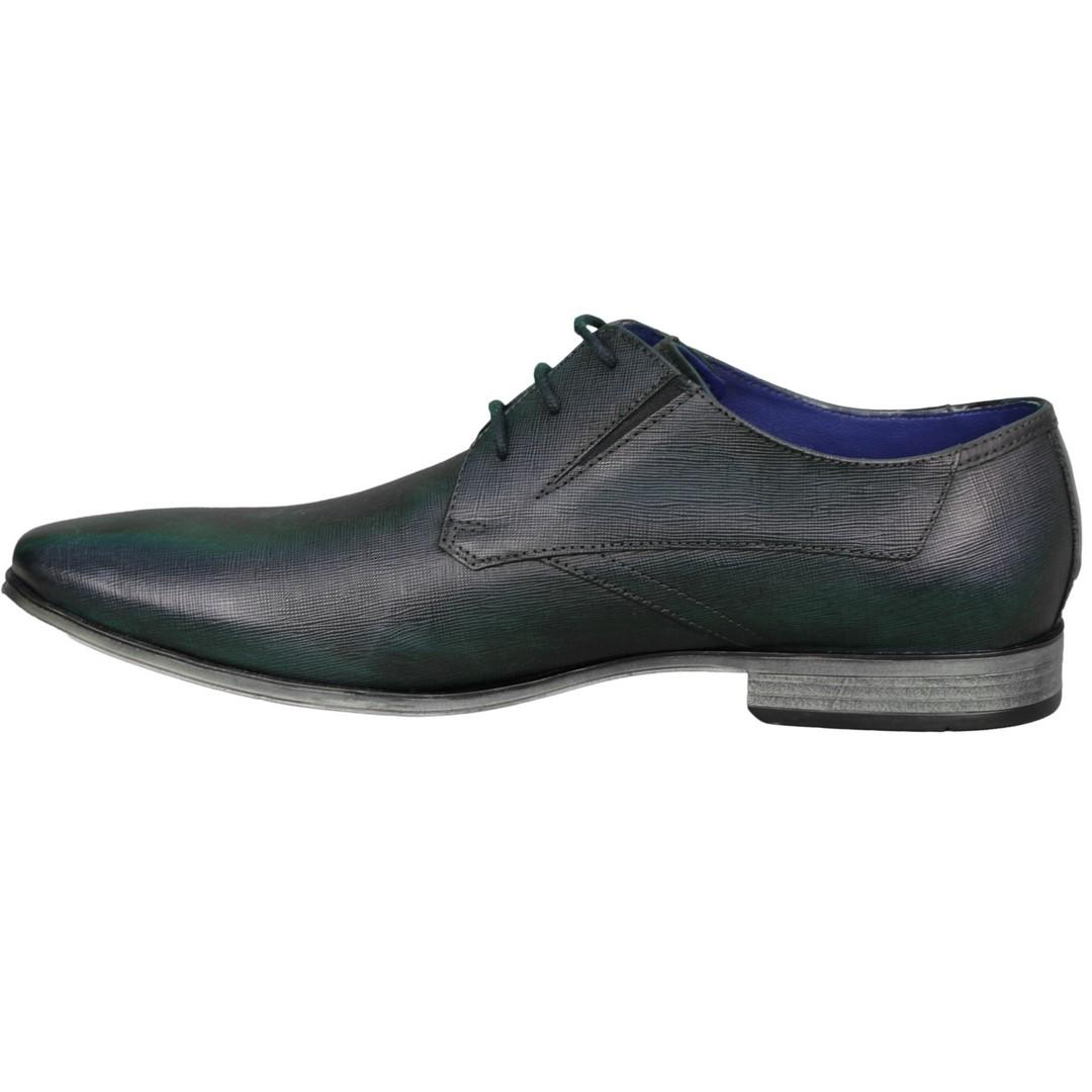 Bugatti Herren Schuhe Schnürschuhe blau 312 42013 2100 4000 blue