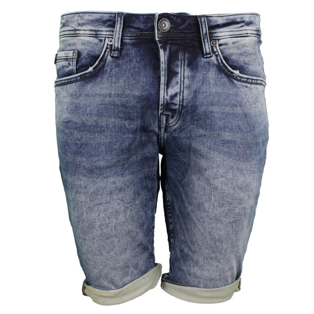 Garcia Herren Jeans Short Jog Denim Savio blau 635 8675 ease denim dark used