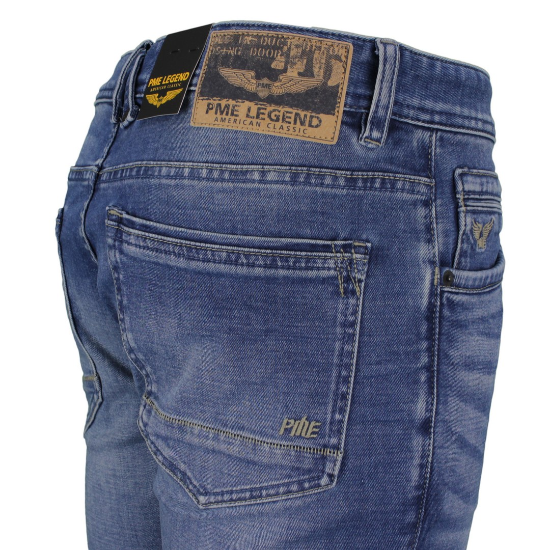 PME Legend Herren Jeans Hose Tailwheel Soft Mid blue PTR140 SMB