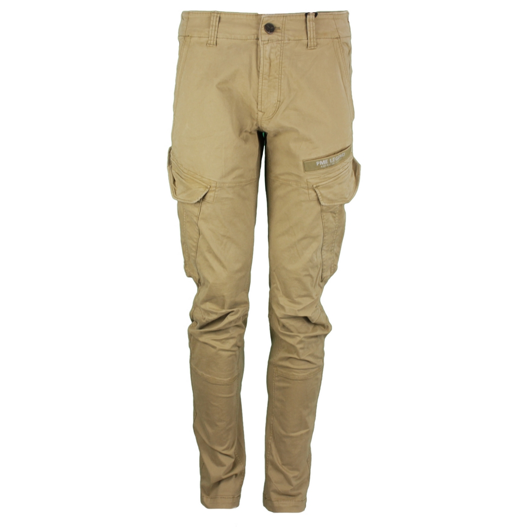 PME Legend Herren Cargo Pants Stretch Twill Cargo beige PTR215640 8034