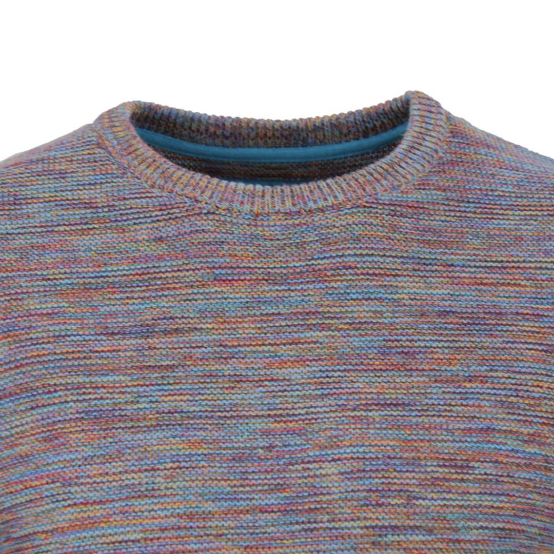 Colours & Sons Herren Strick Pullover mehrfarbig meliert 9220 136 920