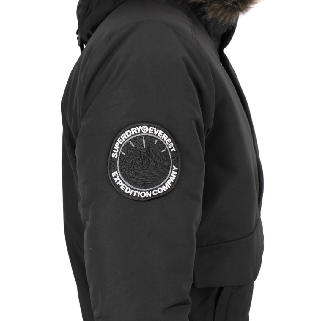 Superdry Winter Bomber Jacke Everest Bomber schwarz M5010203A 02A black