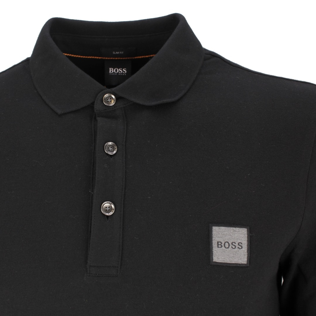 Hugo Boss Rugby Shirt schwarz Passerby 50462783 001
