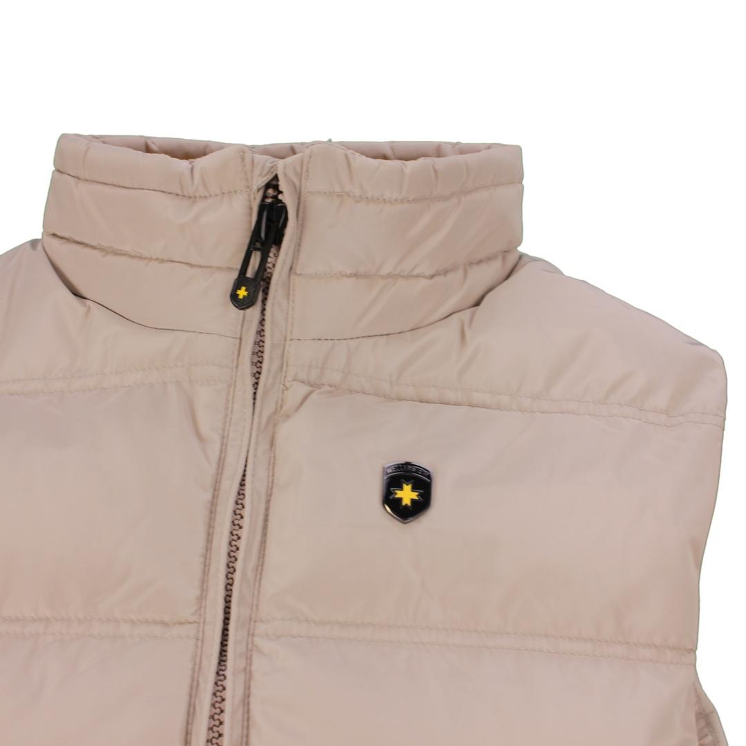 Wellensteyn Herren Weste Snowdome Vest Men beige Unifarben SNVM 560 sand