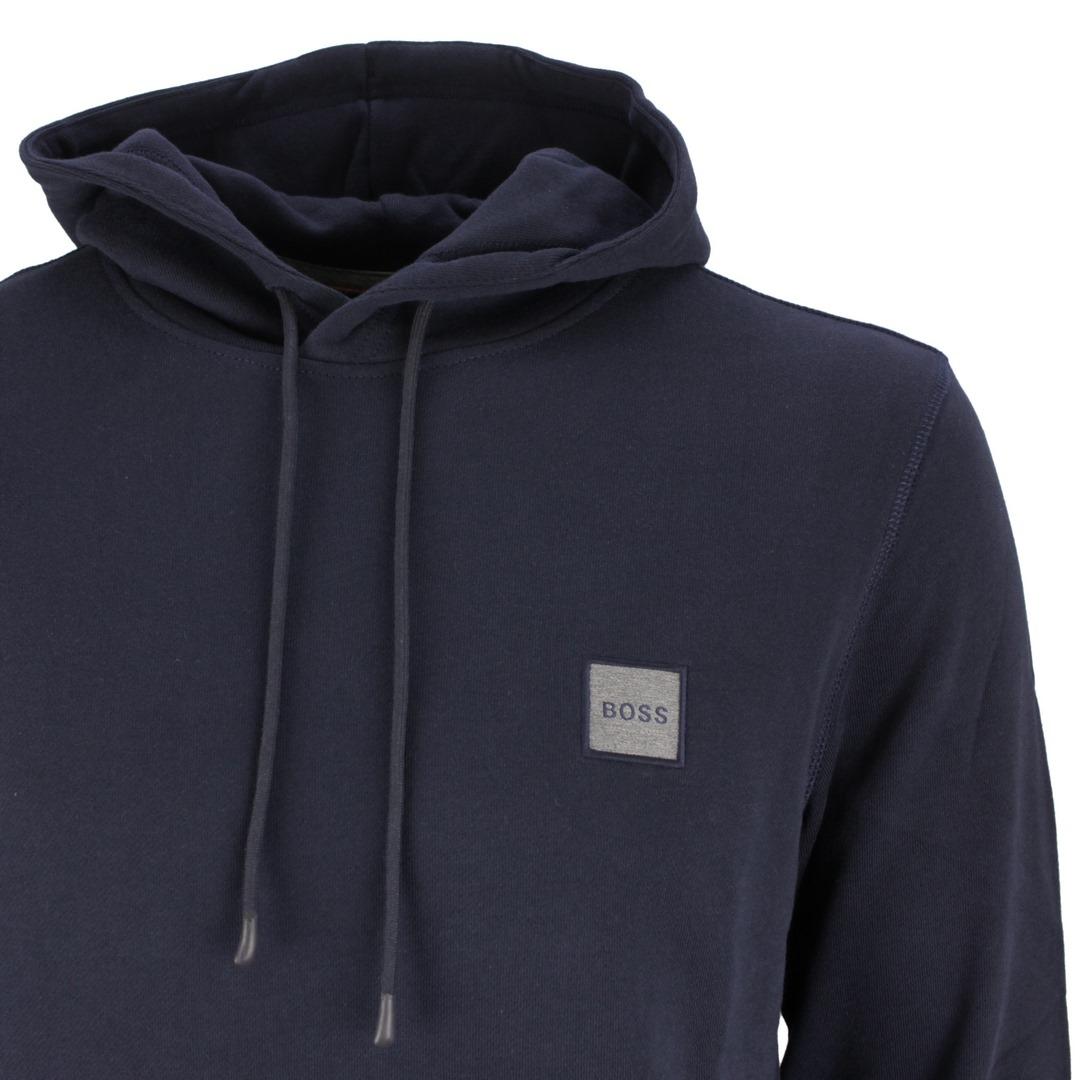 Hugo Boss Kapuzen Pullover Kapuzenpullover Pulli Hoodie 50462776 404 dark blue Wetalk