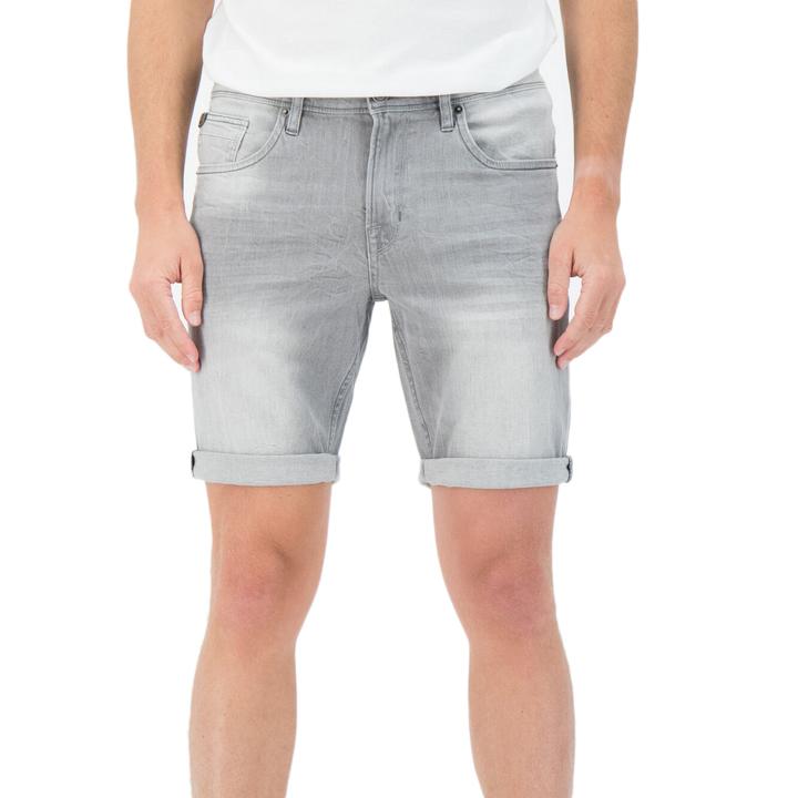 Garcia Herren Jeans Short Russo Smoke Denim grau 615 6530