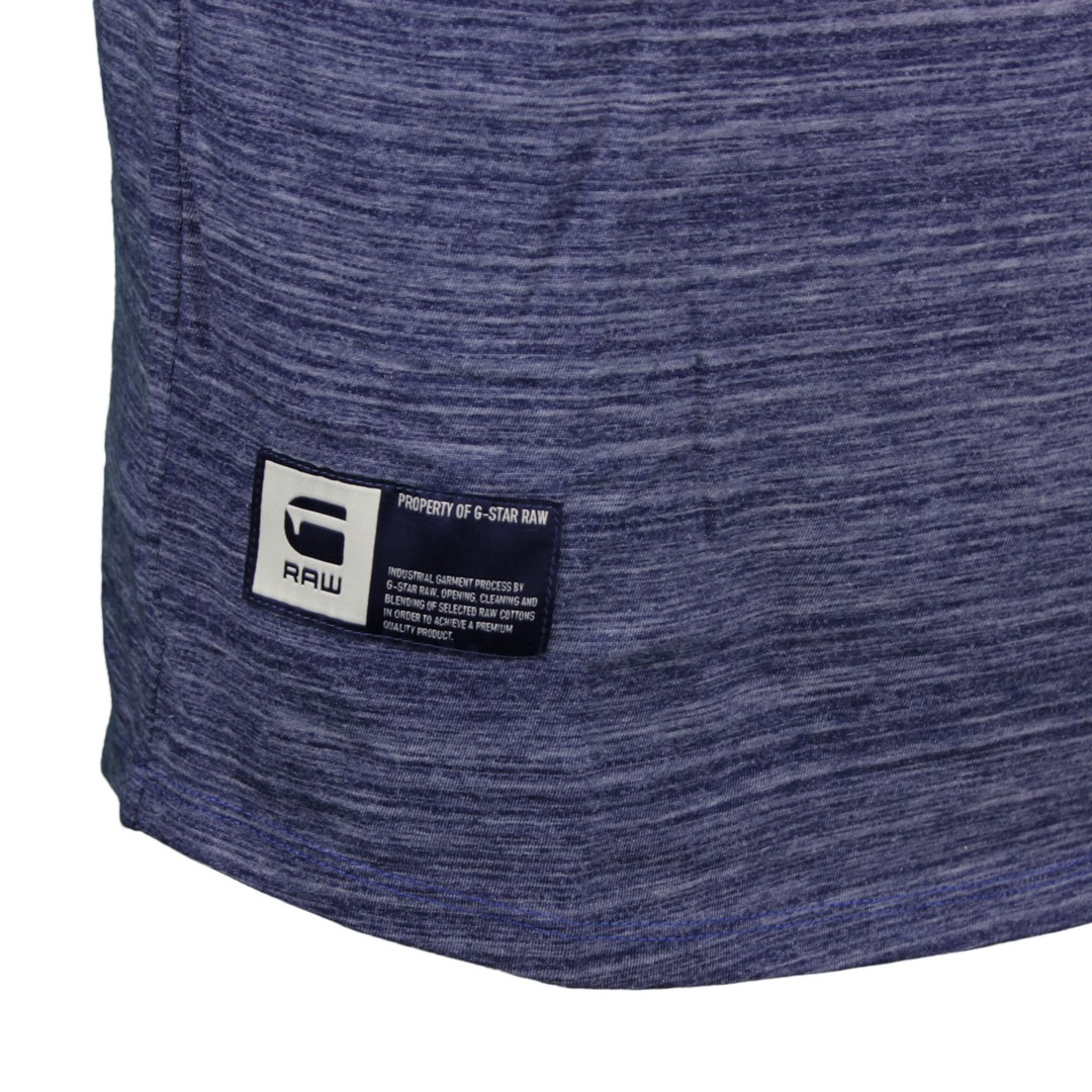 G-Star Raw Herren T-Shirt Lash GR blau D16379 B140 1305