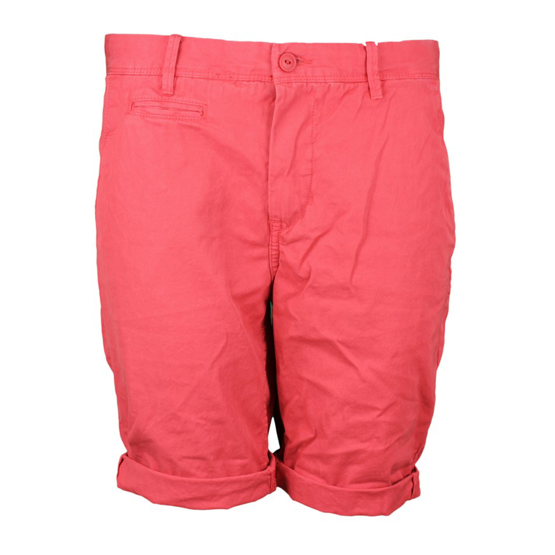 Garcia Herren Chino Short Unifarben Regular Fit rot E71112 2269