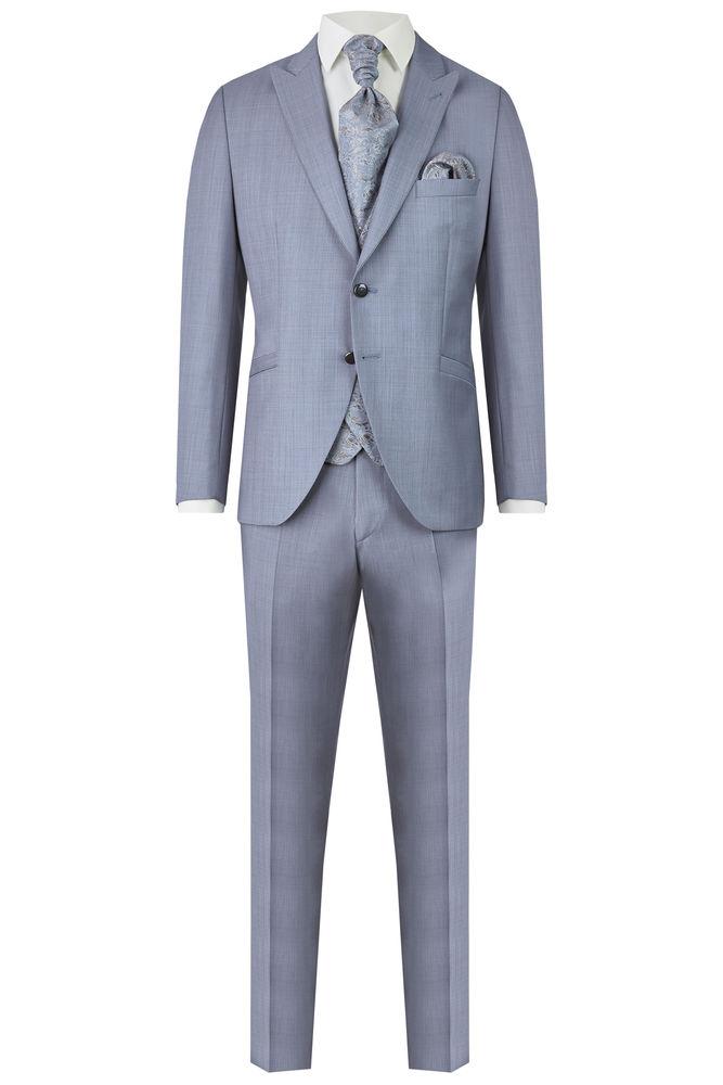Wilvorst Hochzeitsanzug Hose hellblau After Six 401254 724  038