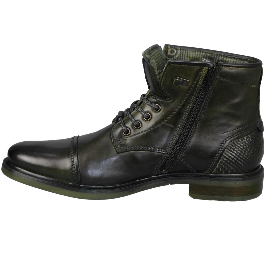 Bugatti Herren Schuhe Stiefel Boots Marcello grün 311 78233 1000 7100 dark green