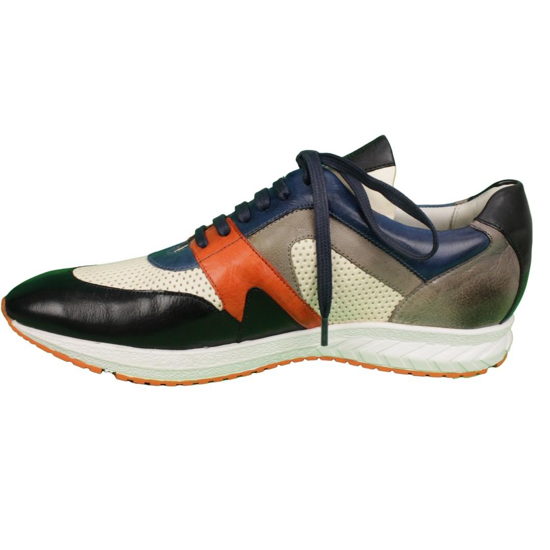 Melvin & Hamilton Herren Sneaker Schuhe Blair-9 111009 Blair White Orange