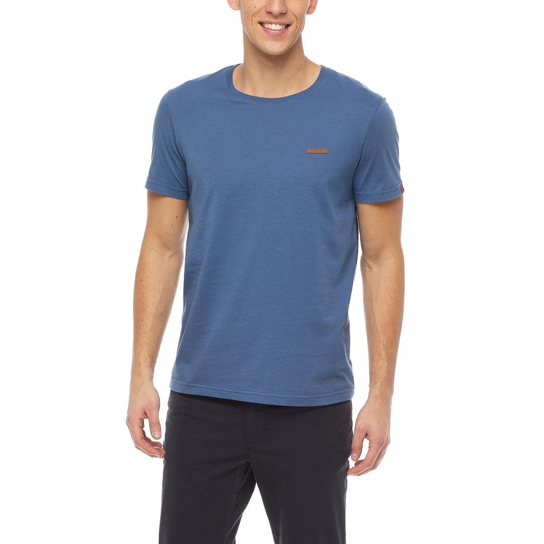 Ragwear Herren T-Shirt Shirt kurzarm Nedie vegan blau 2122 15001 2028 Blue