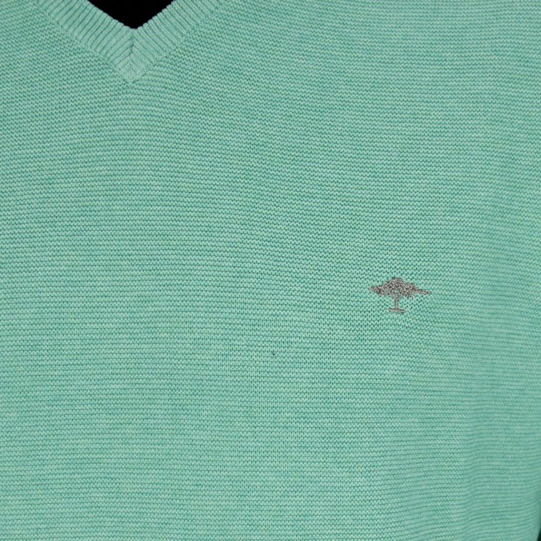 Fynch Hatton Herren Strick Pullover grün 1120234 710 fresh Mint