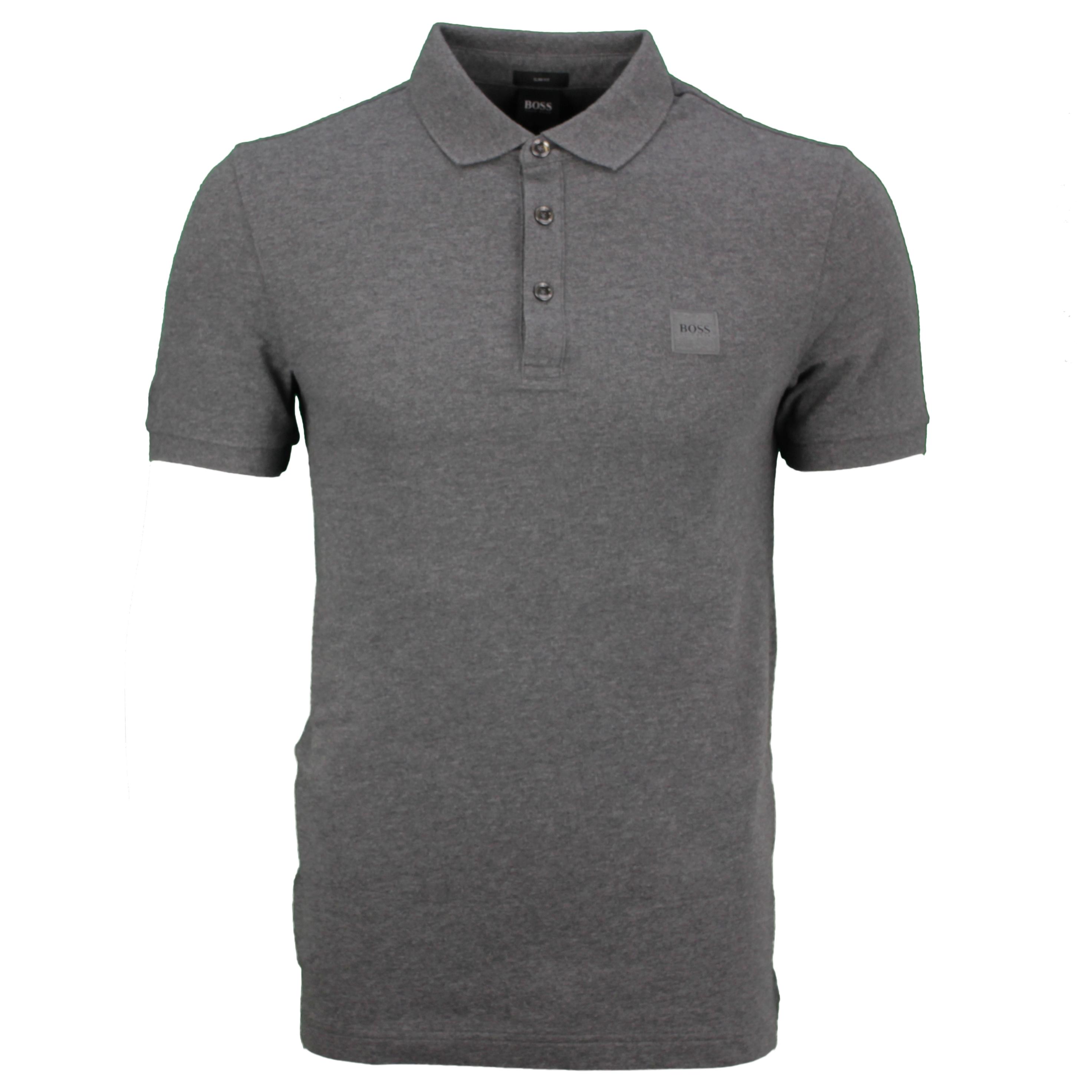 Hugo BOSS Polo Shirt dunkel grau Passenger 50378334 021