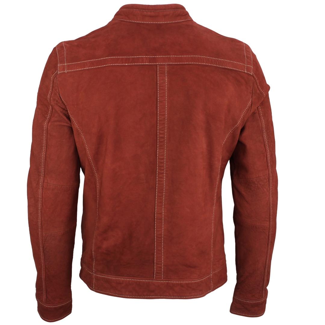 Gipsy Herren Lederjacke Leder Biker Jacke rot GBRyker SF LNUV  rusty red