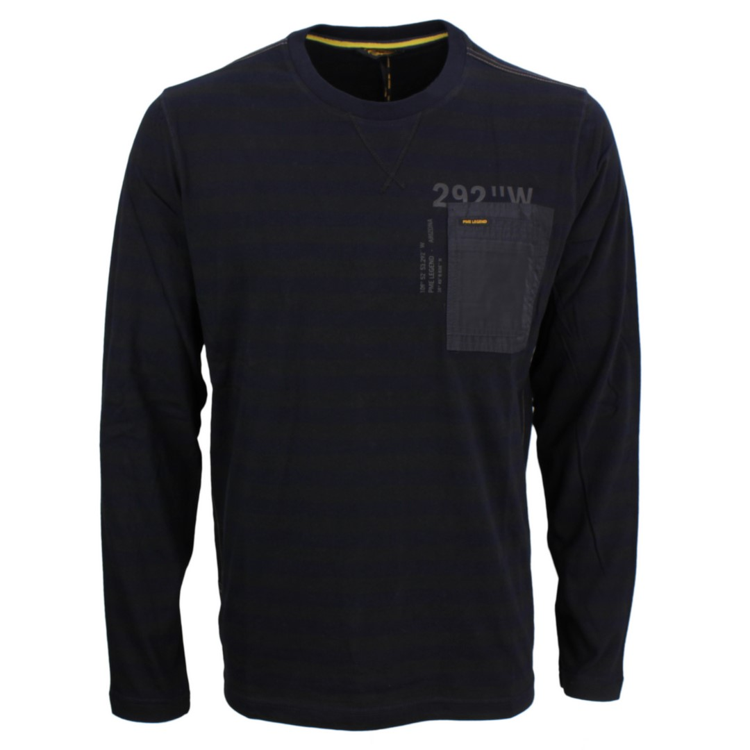 PME Legend Herren Sweat Shirt dunkel blau PTS206518 5288