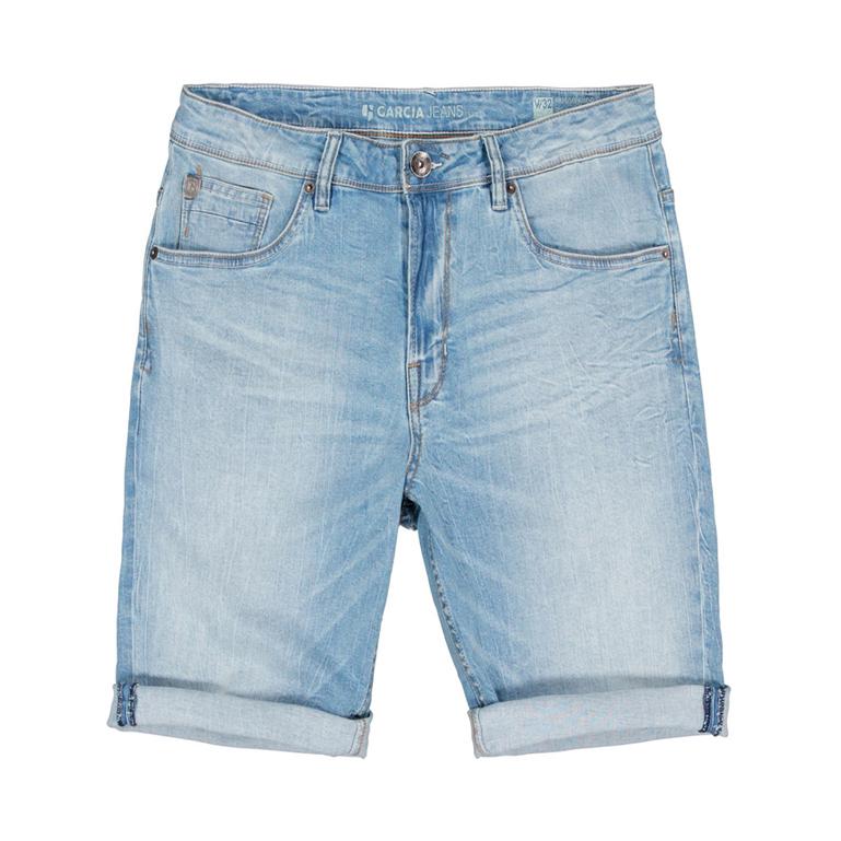 Garcia Herren Jeans Short Russo Acqua Denim 615 5550