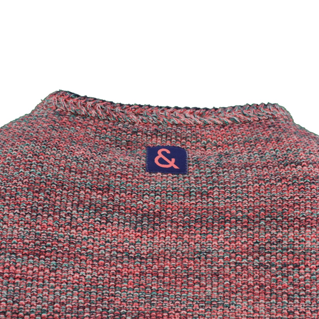 Colours & Sons Herren Strick Pullover Strickpullover mehrfarbig meliert 9121 131 910