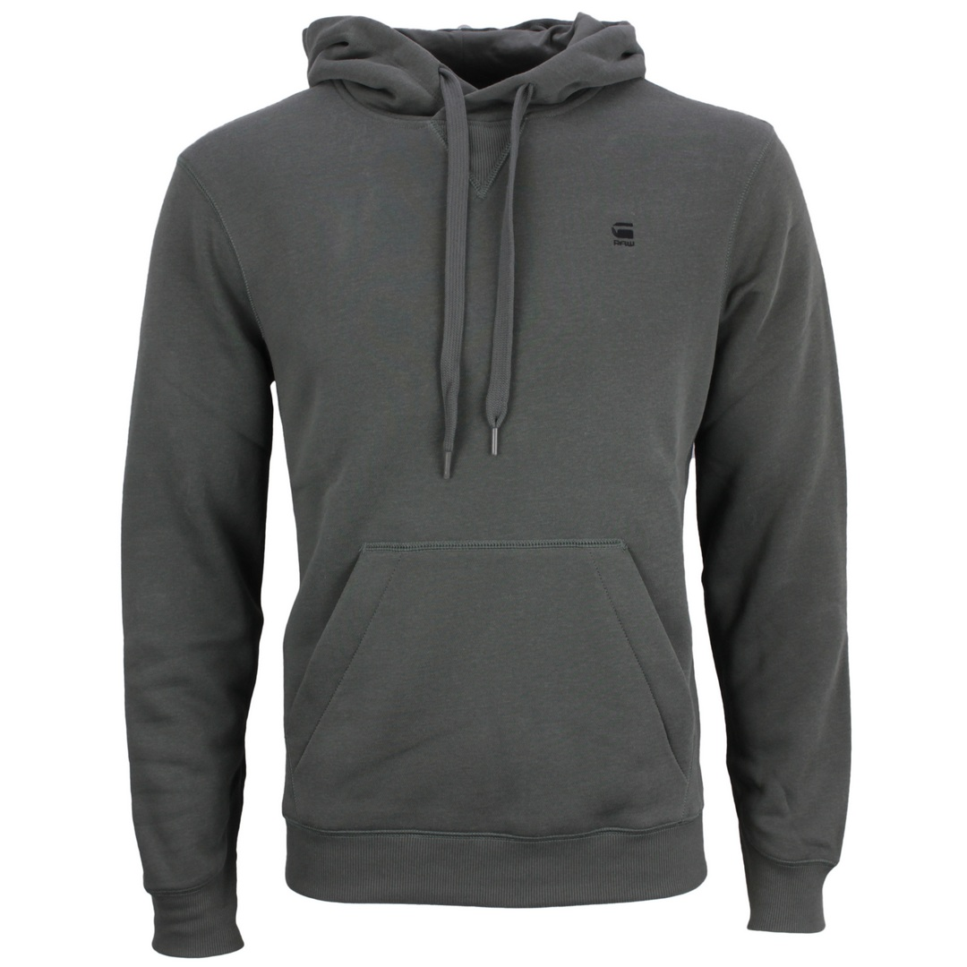 G-Star Raw Kapuzenpullover Hoodie Premium Core Hooded Sweatshirt D16121 C235 996 graphite