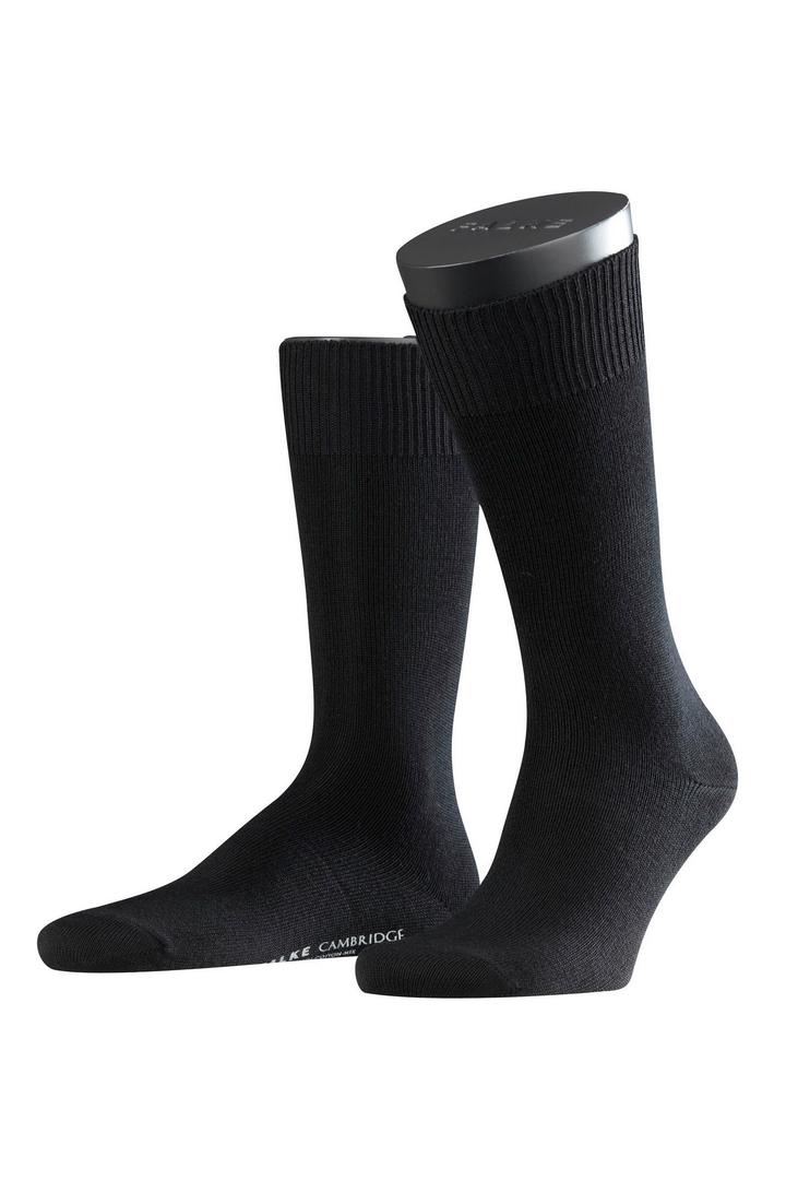 Falke Herren Socken schwarz Cambridge 14481 3000