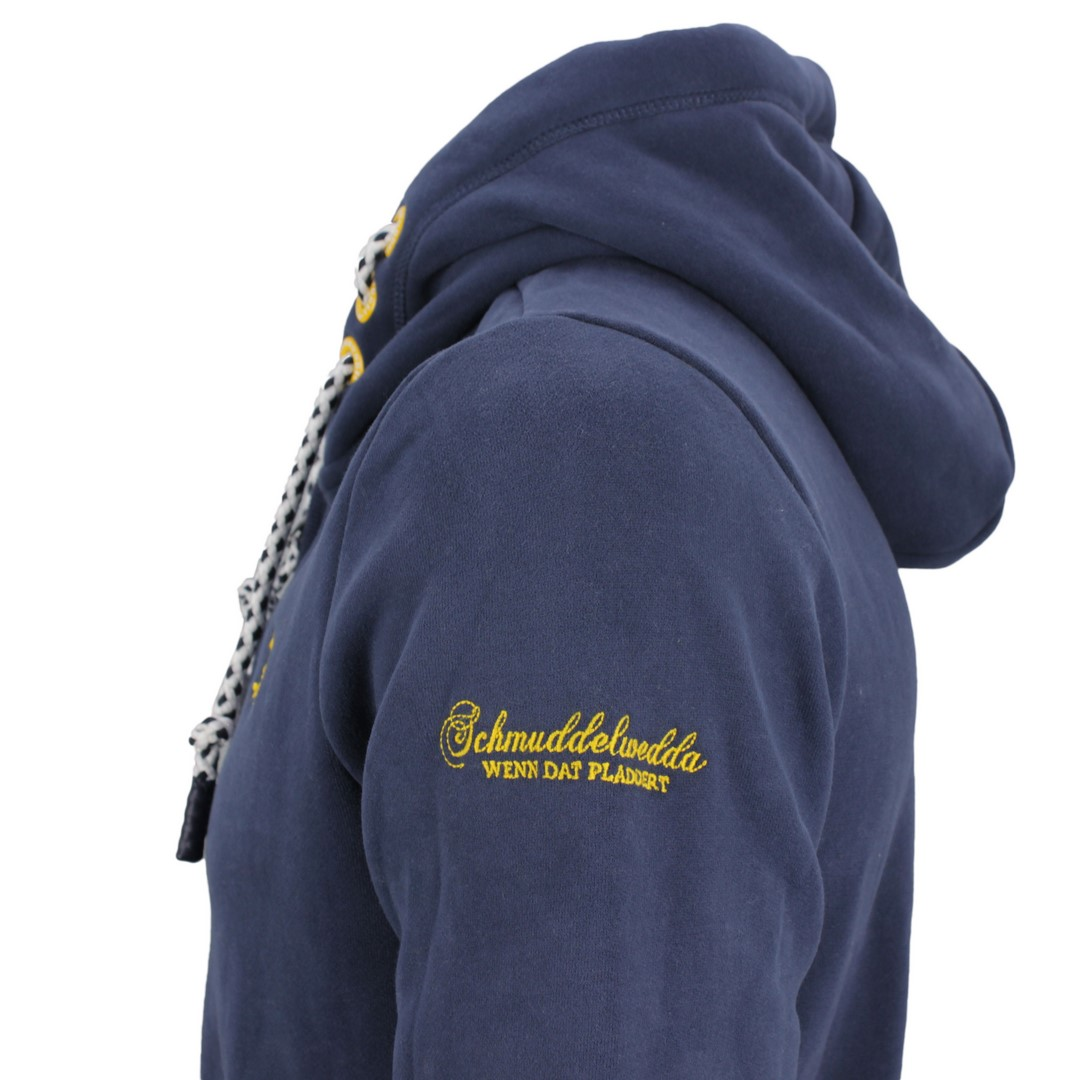 Schmuddelwedda Herren Sweat Jacke marine blau 36606593 marine