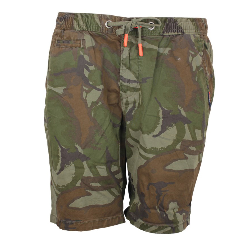 Superdry Herren Short Sunscorched Shorts grün Florales Muster M71011GT R2G army