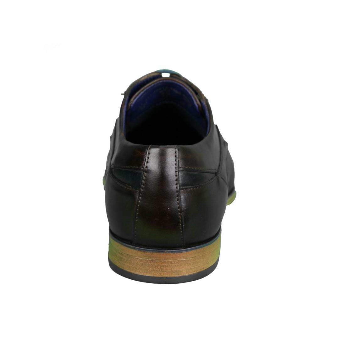Bugatti Herren Schuhe Schnürschuhe dunkel braun 311 42010 3500 6000 brown