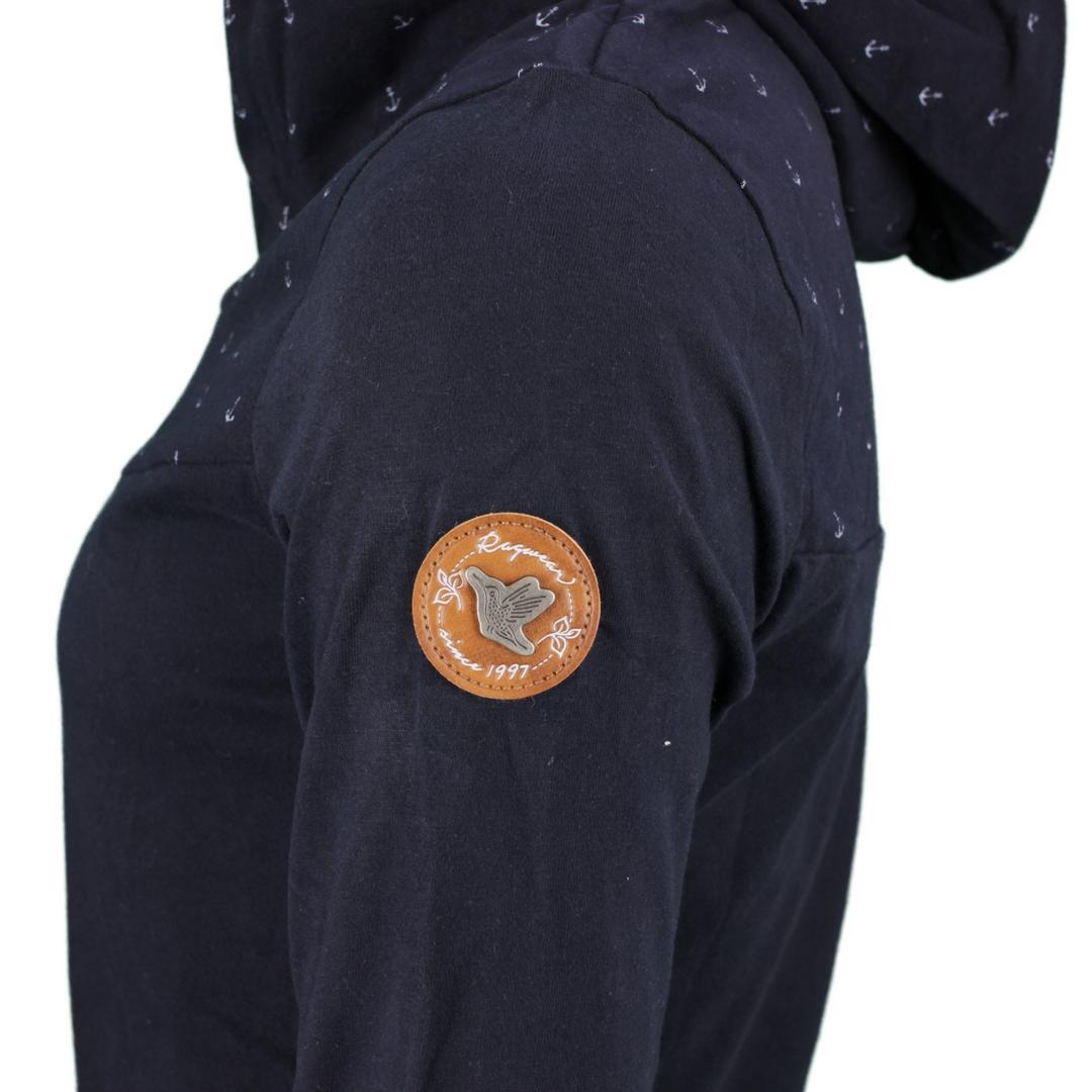 Ragwear Damen Sweat Pullover Hoodie Lucie marine blau 2111 30014 2028 navy