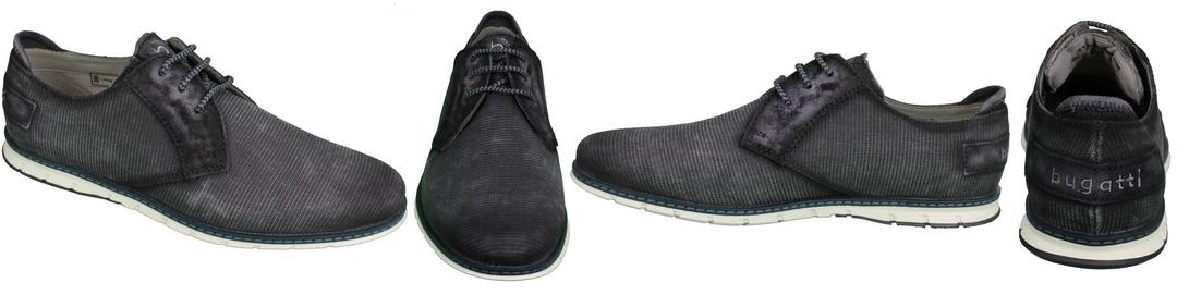 Bugatti Schuhe Silvan Halbschuh dunkel blau 311 A2Y03 6900 4100 dark blue