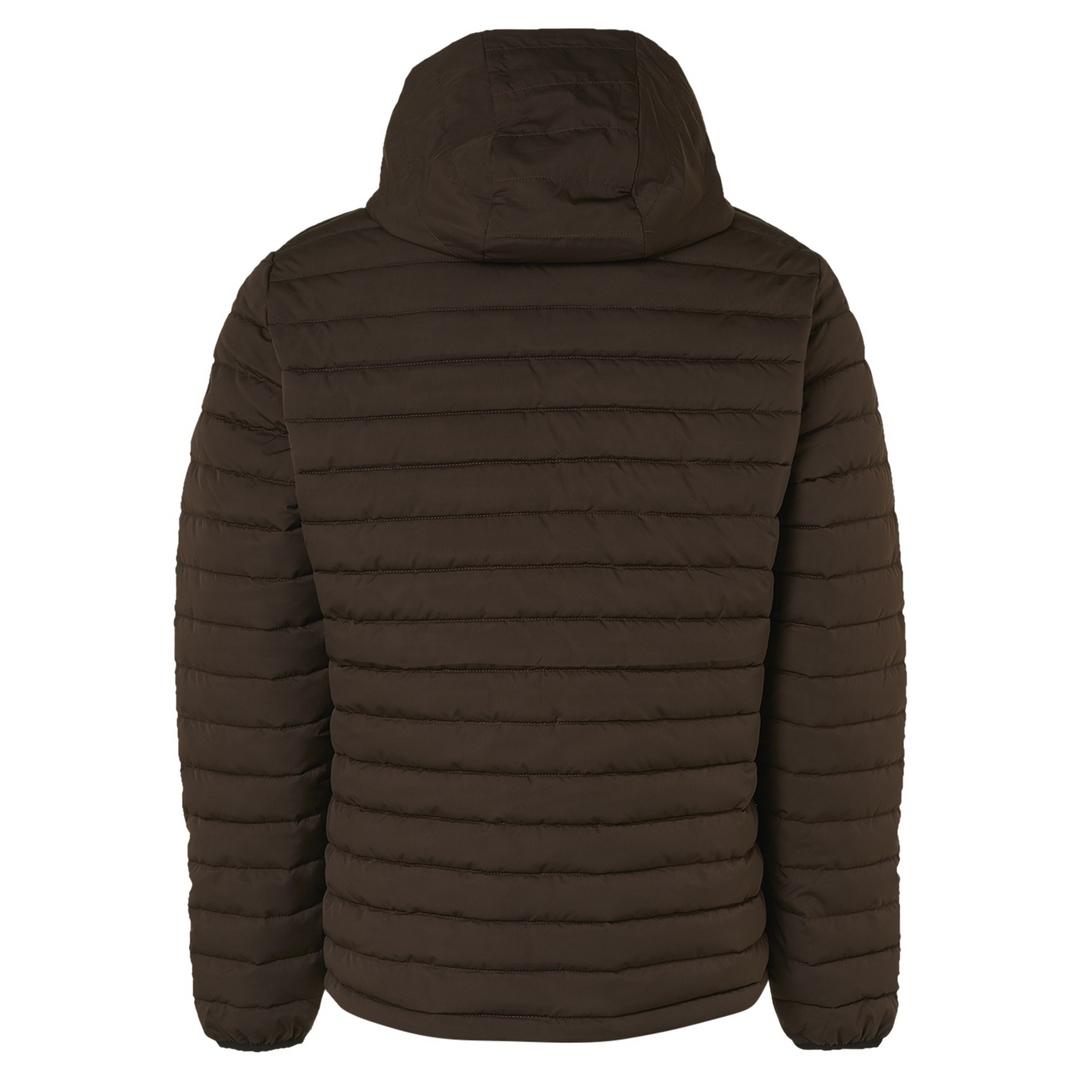 No Excess Jacke Steppjacke braun unifarben  Jacket Short Fit Hooded Padded 12630805 196 Coffee