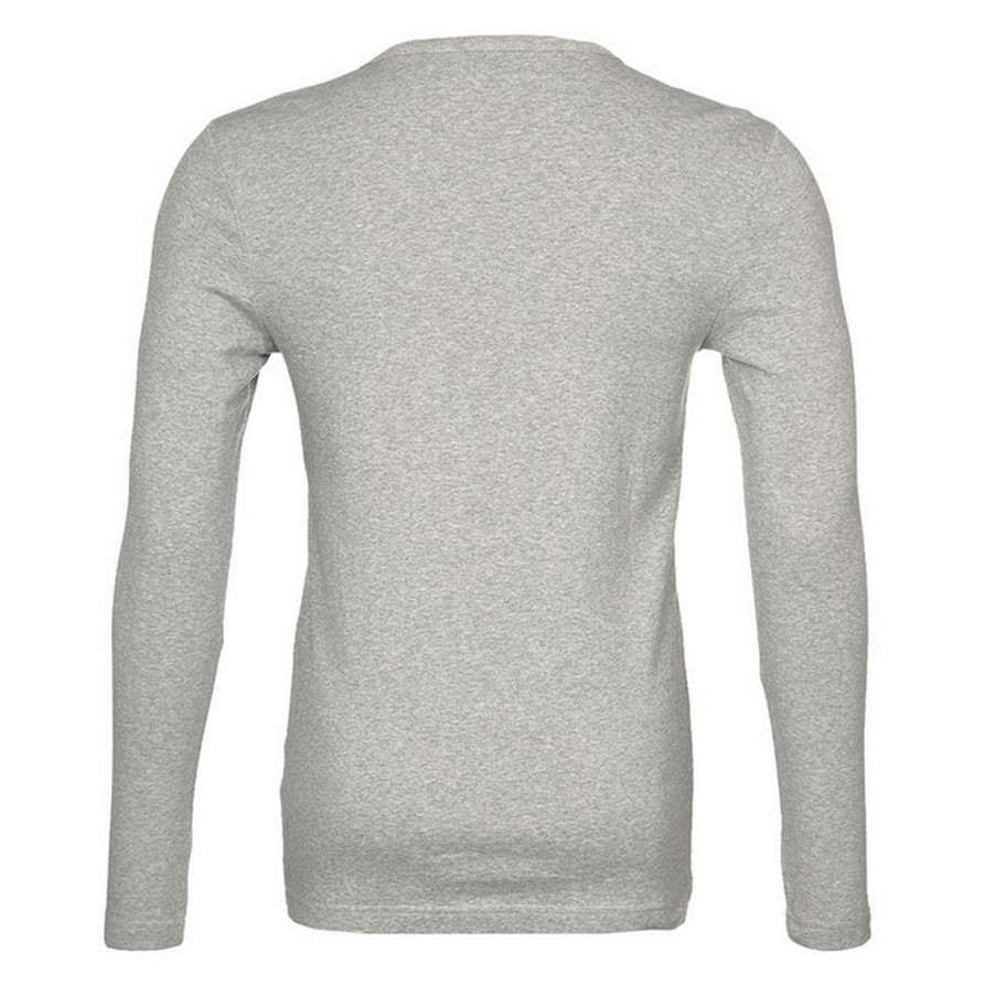 G-star Raw round Neck base crew langarm shirt grau D07204 124 906