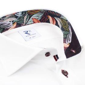 R2 Amsterdam Herren Business Hemd weiß unifarben 110.WSP.006 04 weiß