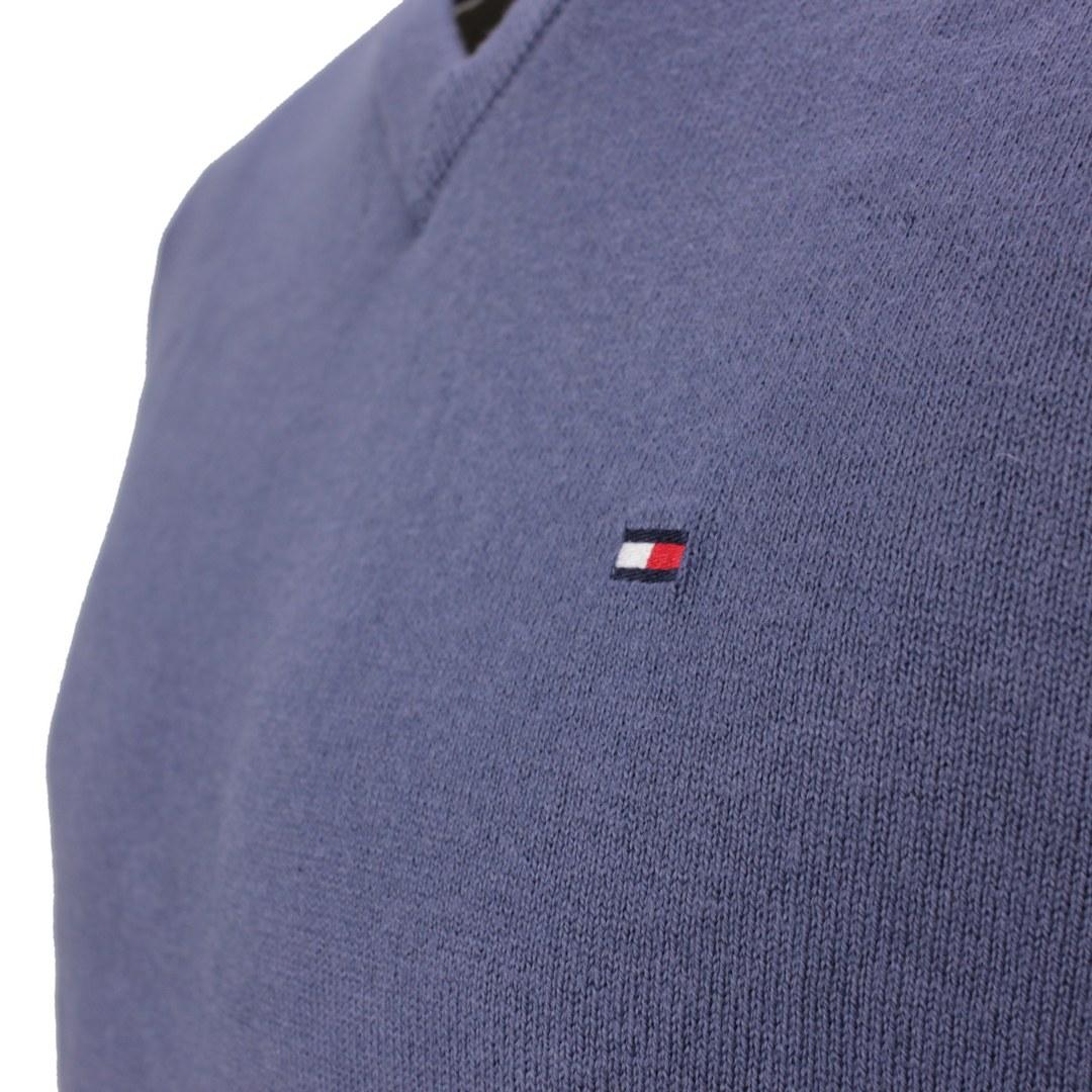 Tommy Hilfiger Herren Strick Pullover Pima Cotton Cashmere  blau MW0MW11673 C9T indigo