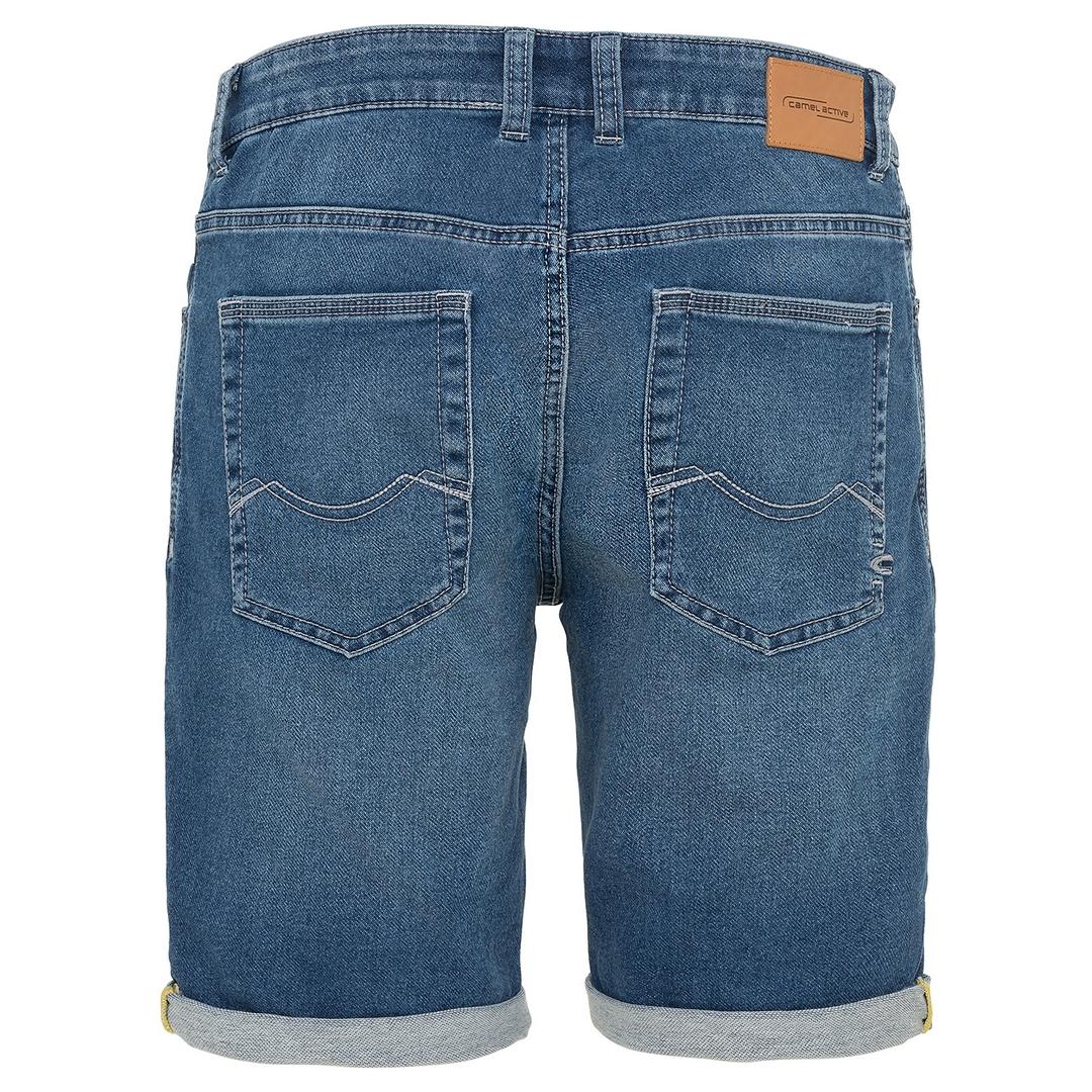 Camel active Herren Jeans Shorts Madison Denim blau 5U74498225 41