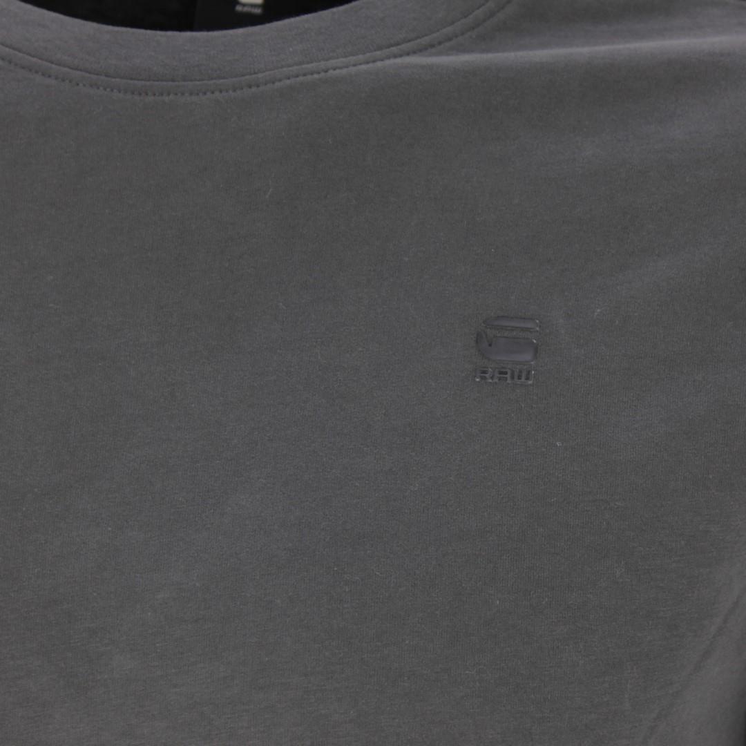 G-Star Raw langarm Shirt Raven Lash anthrazit unifarben D16397 B353 976