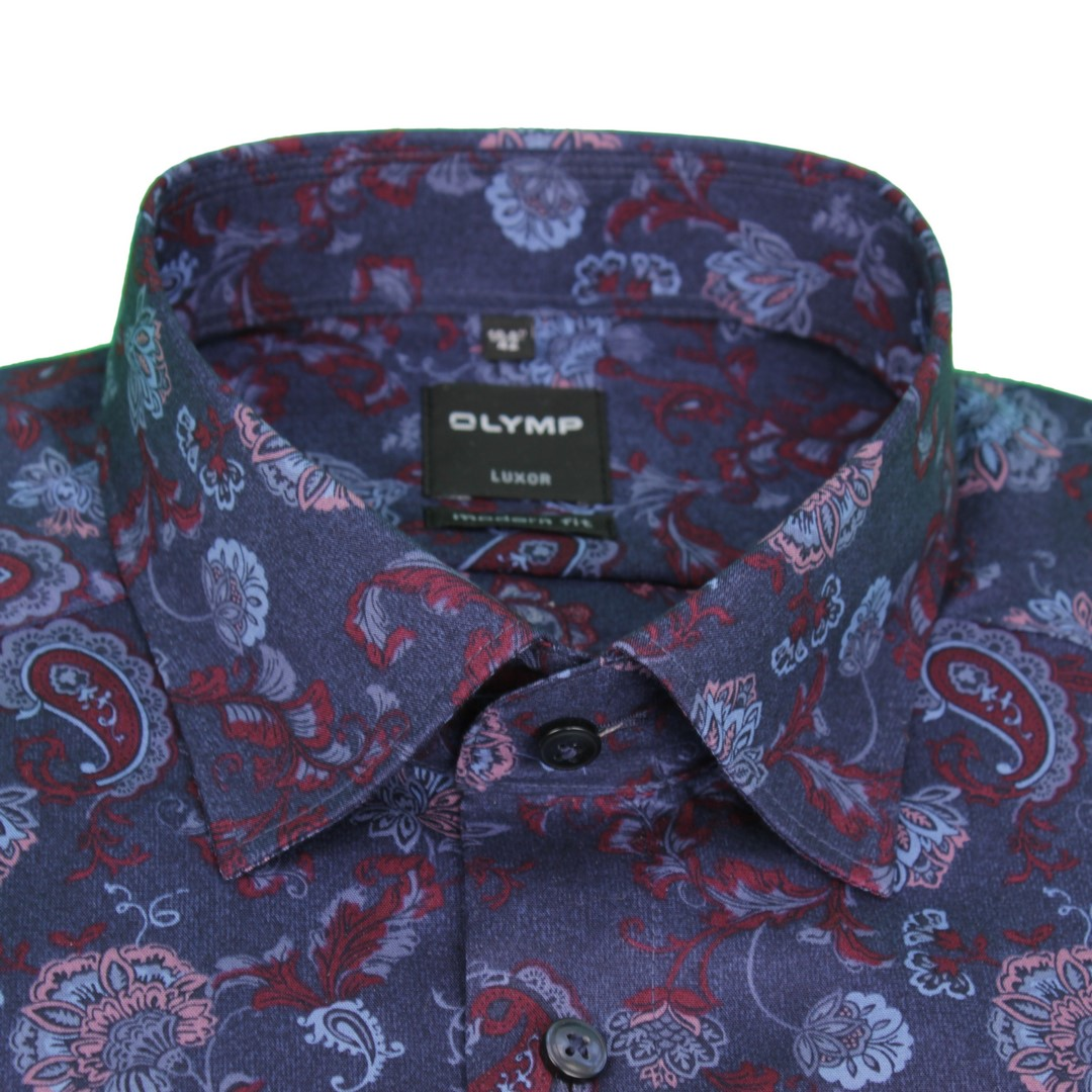 Olymp Modern Fit Hemd mehrfarbig gemustert 4887 39 39