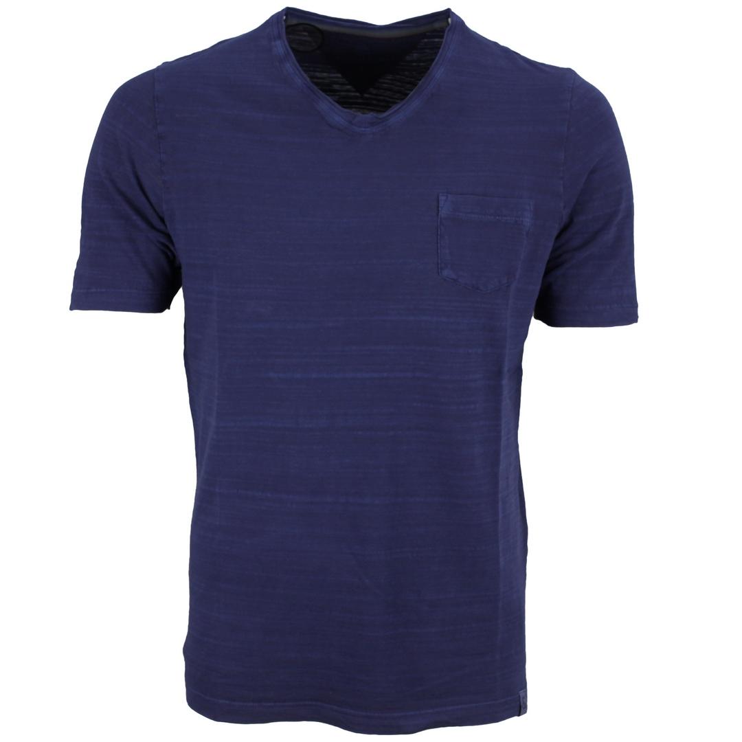 Colours & Sons T-Shirt Shirt kurzarm dunkel blau meliert unifarben 9121 400 699