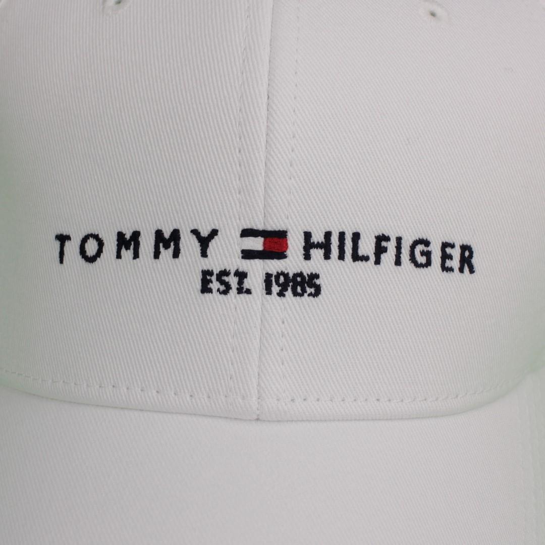 Tommy Hilfiger Kappe Baseball Cap The established Cap weiß AM0AM07352 YCF white
