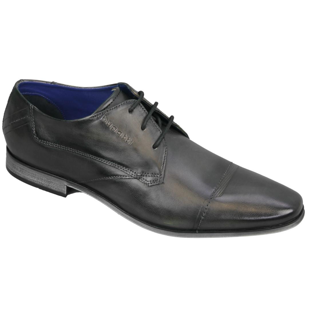 Bugatti Herren Schuhe Schnürschuhe dunkel grau 312420143000 1100 d. grey