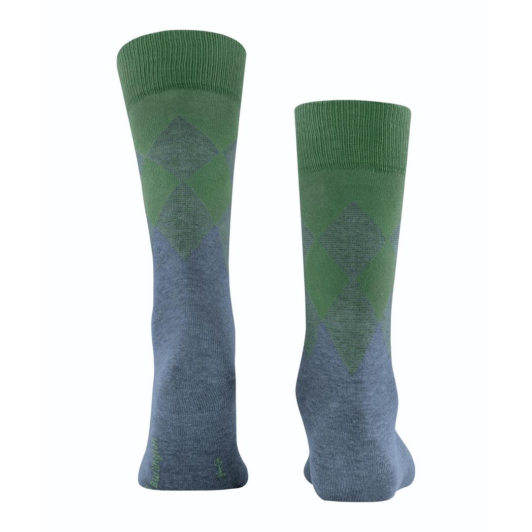 Falke Socken mehrfarbig Agryl Muster Burlington Hampstead 21912 6663 ocean mel