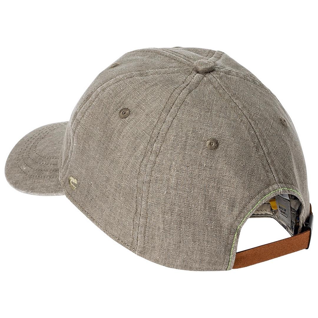 Camel active Herren Leinen Kappe Cap Mütze grau 5C26406260 31